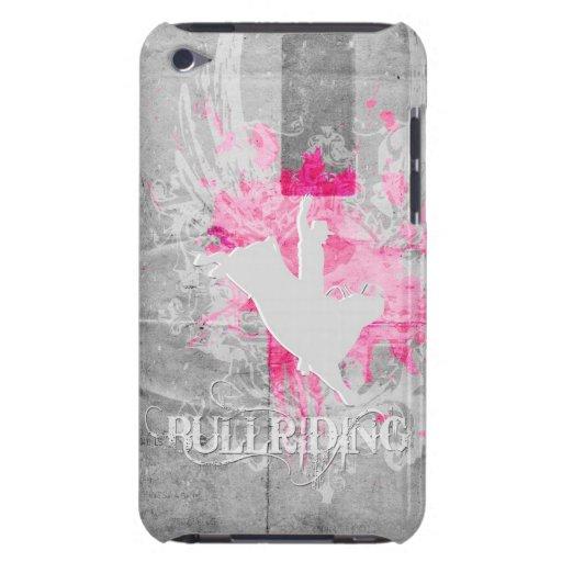 Grundgy Bullriding Case-Mate iPod Touch Coberturas
