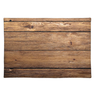 grundgy worn wood background placemat
