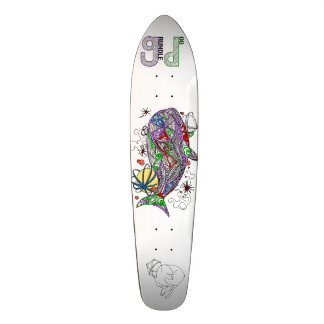Grundle Dog Space Whale Long Board