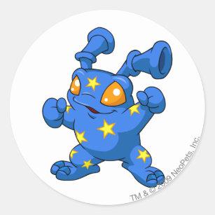 Grundo Starry Classic Round Sticker