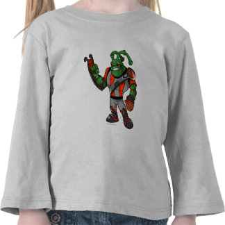 Grundo Virtupets Space Station Player T-shirts