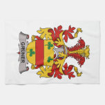 Gruner Family Crest Hand Towels