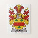 Gruner Family Crest Jigsaw Puzzles