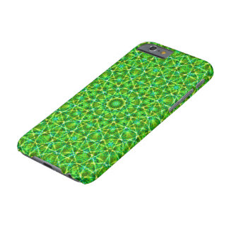 Grünes Netz Kaleidoscope/Green Kaleidoscope Net Barely There iPhone 6 Case