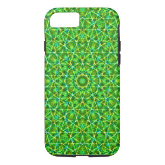 Grünes Netz Kaleidoscope/Green Kaleidoscope Net iPhone 7 Case