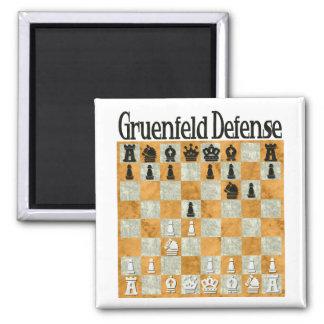 Grünfeld Defense Fridge Magnets