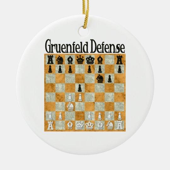 Grünfeld Defense Ornament