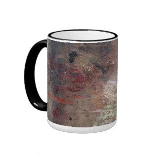 Grunge 26 ringer mug