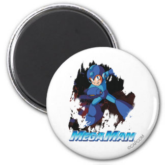 Grunge 2 Inch Round Magnet