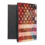 Grunge #5 del arte de la bandera americana iPad cobertura
