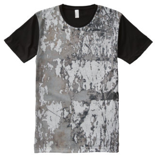 Grunge Abstract All-Over-Print Shirt