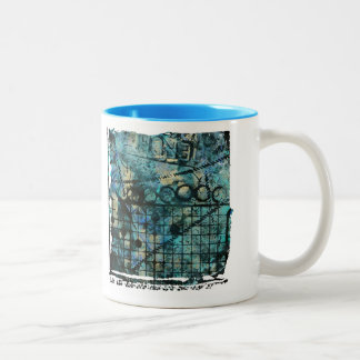 Grunge Abstract Art Mug