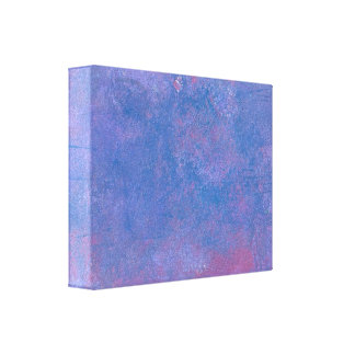 Grunge Abstract Background in Blue Purple and Red Canvas Print
