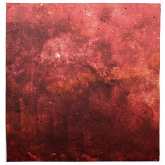 Grunge abstracto rojo colorido brillante BG Servilleta De Papel