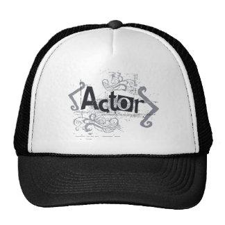 Grunge Actor Trucker Hat