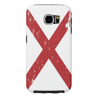 Grunge Alabama Flag Samsung Galaxy S6 Case