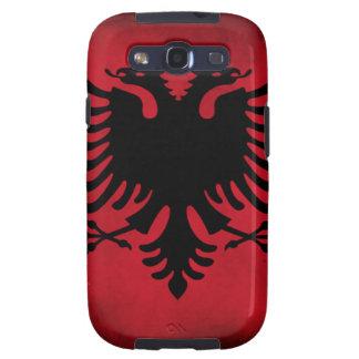 Grunge Albanian Flag [High Quality] Galaxy SIII Cover