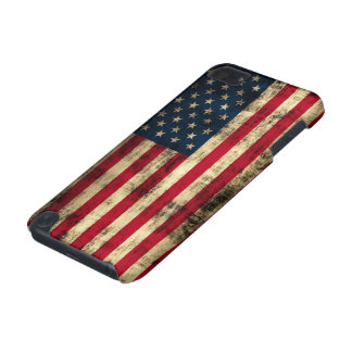 Grunge American Flag iPod Touch (5th Generation) Covers