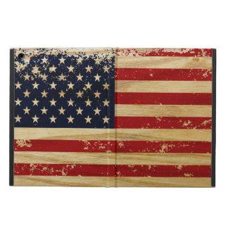 Grunge American Flag iPad Air Covers