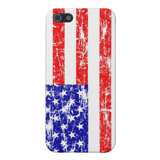 Grunge American Flag iPhone 5 Case