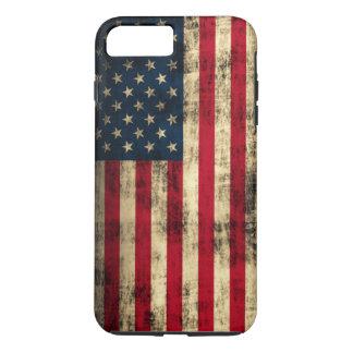 Grunge American Flag iPhone 7 Plus Case