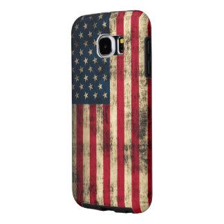 Grunge American Flag Samsung Galaxy S6 Case
