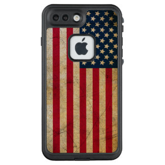 Grunge American flag USA LifeProof FRĒ iPhone 7 Plus Case