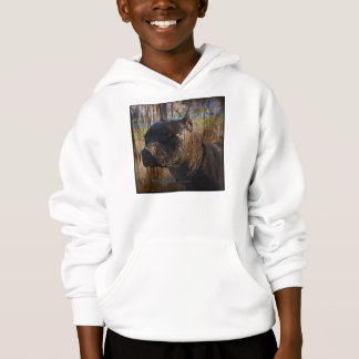 Grunge American Staffordshire Terrier Pitbull Hoodie