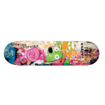 Grunge Animals Aleloop Skateboard