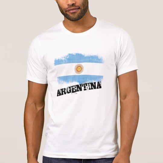 Grunge Argentina Flag T-Shirt