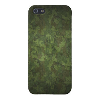 Grunge Army Green Military Camouflage iPhone SE/5/5s Case