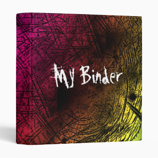 Grunge Art Horror Styled Binder