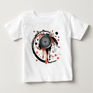 Grunge Audio Speaker Baby T-Shirt