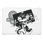 Grunge Audio Tape & Skull iPad Mini Case