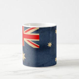 Grunge Australian Flag Coffee Mug