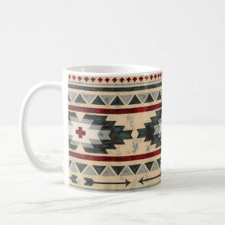 Grunge Aztec Tribal Coffee Mug