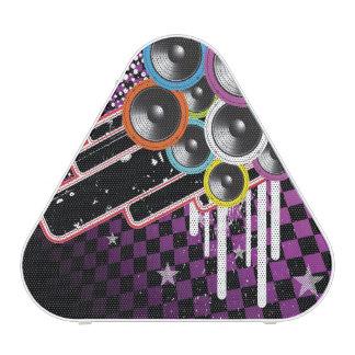 Grunge background bluetooth speaker