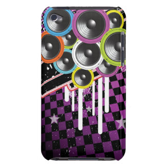 Grunge background iPod touch case
