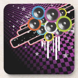 Grunge background coaster