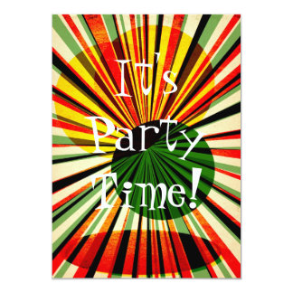 grunge background vintage4, It'sParty Time! Card