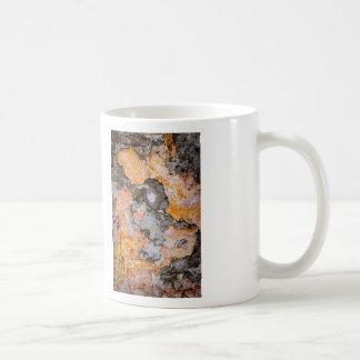 Grunge background wall coffee mugs