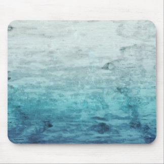 Grunge backward vintage wooden texture mouse pad