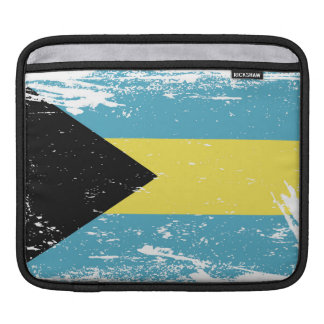 Grunge Bahamas Flag Sleeve For iPads
