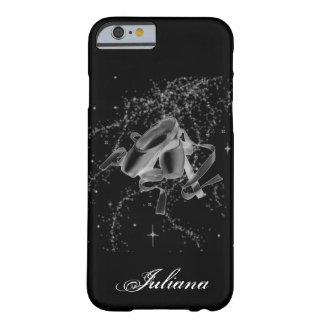 Grunge Ballet Shoes on Black iPhone 6 case