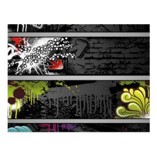 grunge-bandera-vector postal