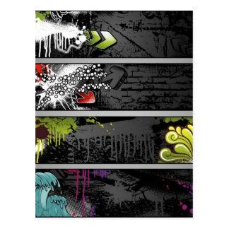grunge-bandera-vector postales