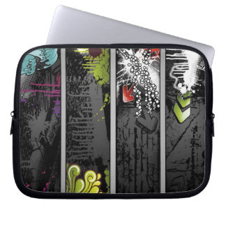 grunge-banners-vector laptop sleeves