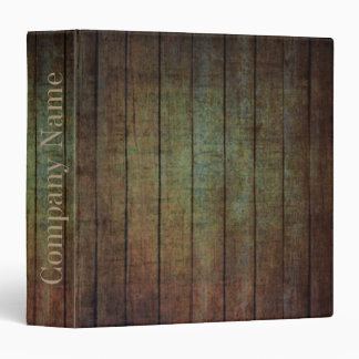 grunge barn wood contractor construction business 3 ring binder