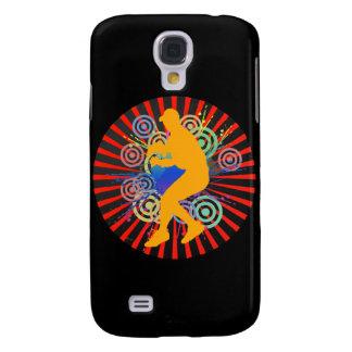 Grunge Baseball Player iPhone 3 G Speck Case
