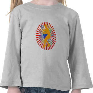 Grunge Baseball Player Toddler Long Sleeve T-Shirt